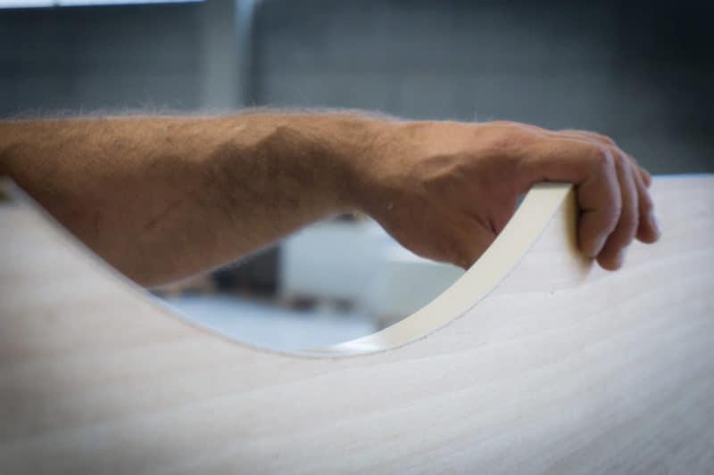 Modolo Bordatura manuale sul curvo rifinitura